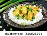 chicken fillet with curry ...