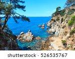 summer sea rocky coast view... | Shutterstock . vector #526535767