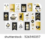 abstract printable golden tags... | Shutterstock .eps vector #526540357