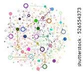 social network graphic concept. ... | Shutterstock . vector #526554373