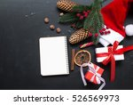 spicy christmas background.... | Shutterstock . vector #526569973