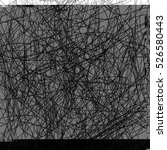 grunge scribble overlay texture.... | Shutterstock .eps vector #526580443