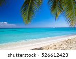 beautiful beach and tropical sea | Shutterstock . vector #526612423