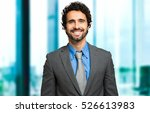 portrait of an handsome... | Shutterstock . vector #526613983