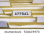 Small photo of Appeal word on card index paper