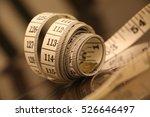 measuring tape | Shutterstock . vector #526646497