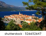 View Of Korcula Old Town ...