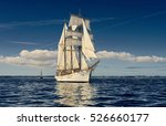 yachting. sailing. sailing ship.... | Shutterstock . vector #526660177
