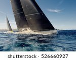 sailing yacht race. yachting.... | Shutterstock . vector #526660927