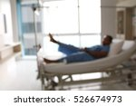 blurred image patient physical... | Shutterstock . vector #526674973