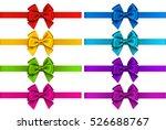 vector set of decorative... | Shutterstock .eps vector #526688767