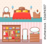 illustration flat design... | Shutterstock . vector #526696507