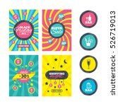 sale website banner templates.... | Shutterstock . vector #526719013