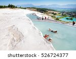 Pamukkale  Turkey   August  14...