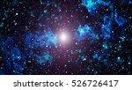 night sky and milky way | Shutterstock . vector #526726417