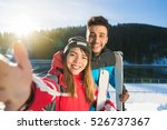coupe ski snowboard resort...   Shutterstock . vector #526737367
