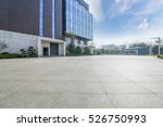 empty floor with modern... | Shutterstock . vector #526750993