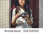 camera photographer inspiration ... | Shutterstock . vector #526769353