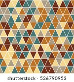 seamless pattern with triangle | Shutterstock .eps vector #526790953