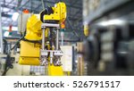 industrial machine and factory... | Shutterstock . vector #526791517