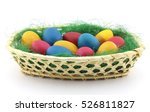 close up of colorful easter...   Shutterstock . vector #526811827