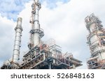 the equipment of oil refining ... | Shutterstock . vector #526848163
