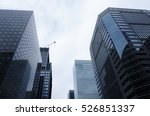 marunouchi business district in ... | Shutterstock . vector #526851337