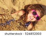 having fun and joy concept.... | Shutterstock . vector #526852003