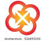 arrow vector illustration   Shutterstock .eps vector #526855243