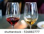 wine tasting experience in...   Shutterstock . vector #526882777