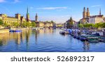 panoramic view of the old town...   Shutterstock . vector #526892317