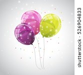 Color Glossy Balloons...