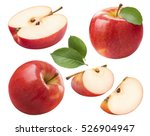 red apple whole pieces set...