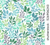 vector seamless pattern with... | Shutterstock .eps vector #526906243