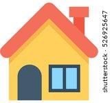 residence vector icon | Shutterstock .eps vector #526925647