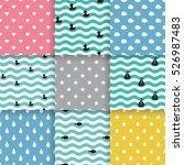 set of scandinavian trend... | Shutterstock .eps vector #526987483