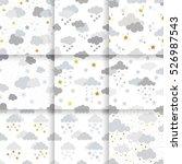 set of scandinavian trend...   Shutterstock .eps vector #526987543