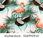 beautiful vector hand drawn... | Shutterstock .eps vector #526992913