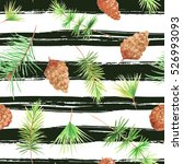 seamless pattern with... | Shutterstock . vector #526993093