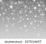 Falling Snow. Vector...