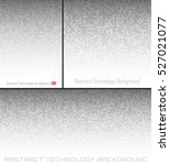set of abstract gray technology ... | Shutterstock .eps vector #527021077