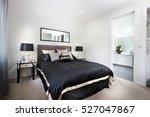 luxury bedroom including black... | Shutterstock . vector #527047867