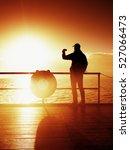Tourist Photograph  On Sea Mol...