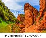 Red Rock Canyon. Mountain Red...