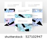 geometric background template... | Shutterstock .eps vector #527102947