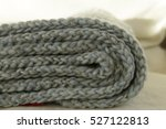 Knitted Gray Background 5