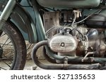 Old Soldier Motorcycle Engine...