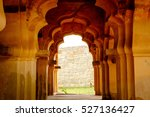 an old archway at hampi  india | Shutterstock . vector #527136427