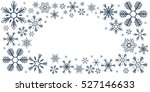 merry christmas and happy new... | Shutterstock .eps vector #527146633