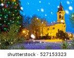 Catholic Church With Christmas...